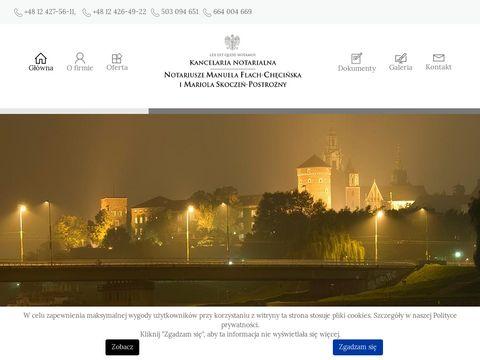 Manuela Flach-Chęcińska notariusz