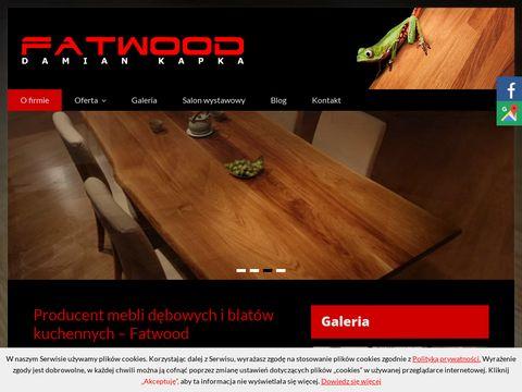Fatwood blaty dębowe Gniezno