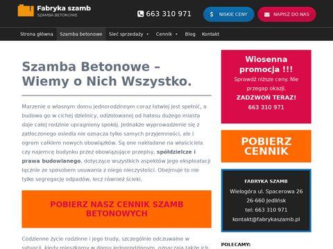 Fabrykaszamb.pl betonowych Radom