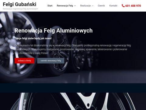 Felgigubanski.pl renowacja
