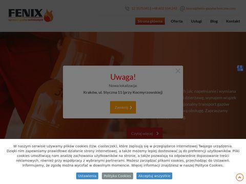 Fenix sprzedaż gazów technicznych Kraków