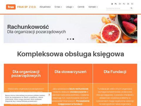 Frux.org.pl biuro rachunkowe