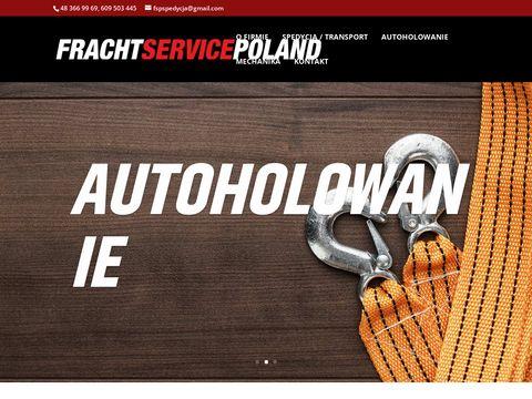Fracht Service Poland wymiana opon Radom