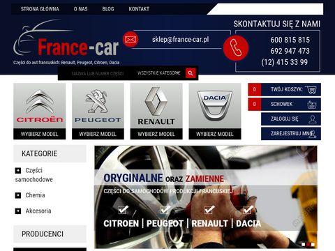 France-car.com.pl części do aut francuskich Kraków