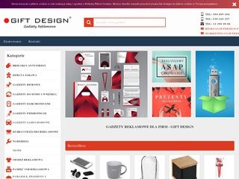 Gift design - upominki firmowe