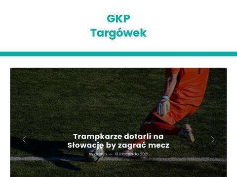 Gkptargowek.pl trening piłkarski