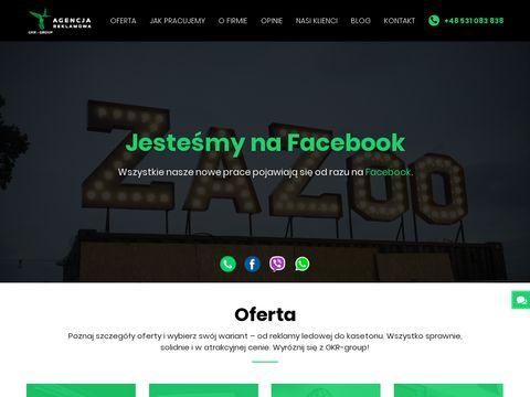 Gkr-group.pl litery przestrzenne