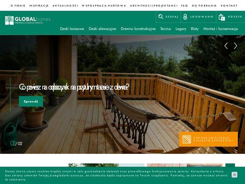 Global-Biznes deska tarasowa Kraków