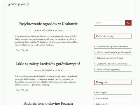 Goldeneye.com.pl kosmetyczka Łódź