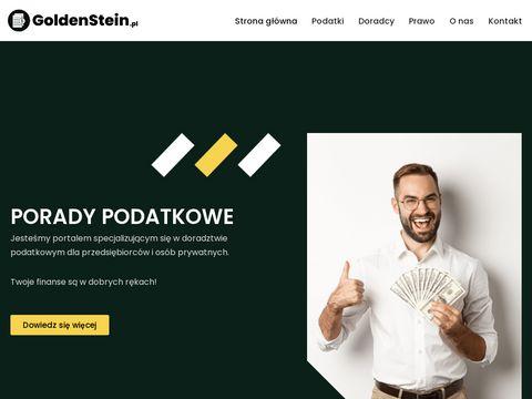 Goldenstein Szczecin doradztwo podatkowe