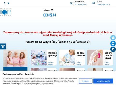 Godula-Hope poradnia genetyczna