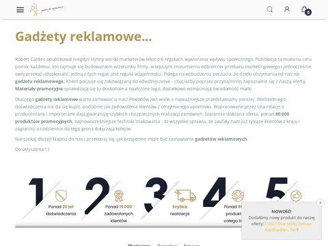 Gadzetydlafirm.com.pl reklamowe