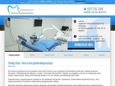 Gabinetstomatologiczny.olsztyn.pl