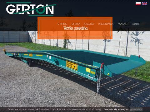 Gerton.pl rampa przeładunkowa