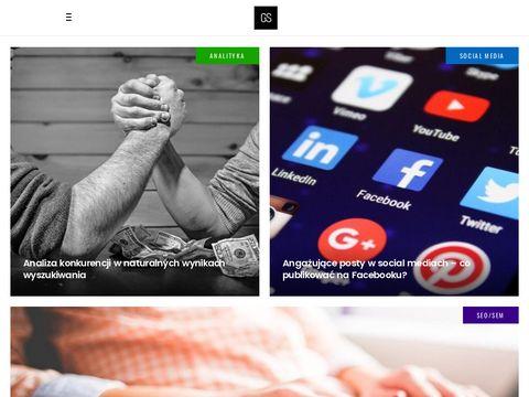 Gszymanski.pl - blog o MLM i sprzedaży