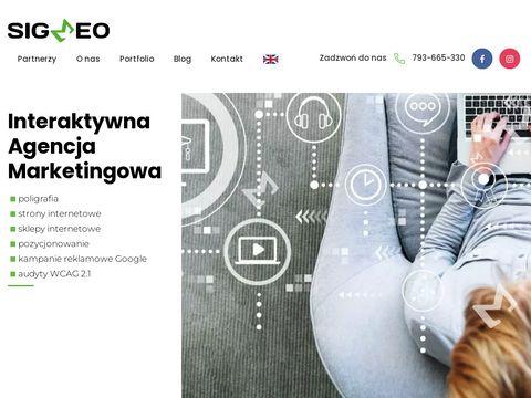 Grupasigmeo.pl pozycjonowanie stron internetowych