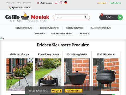 Grillomaniak.pl - wędzarne ogrodowe