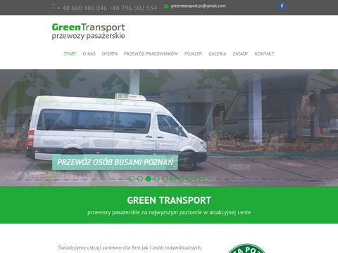 Green-Transport.pl wynajem autobusów, busów Poznań