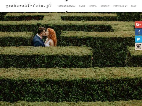 Grabowski-foto.pl sesje zdjęciowe ślubne