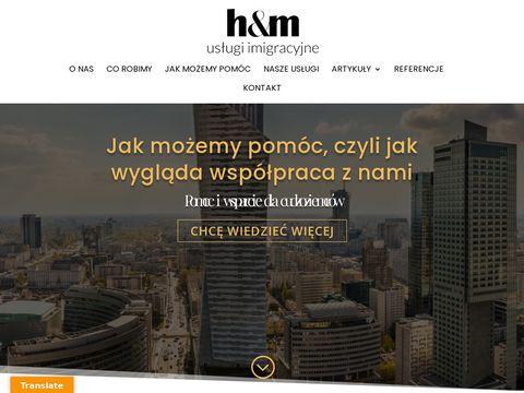D-hm.pl usługi imigracyjne