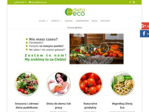 Dietaeco.pl kalorii z dowozem Warszawa