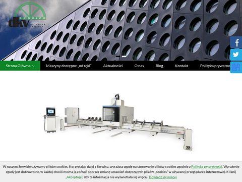 DKV-Service maszyny do aluminium
