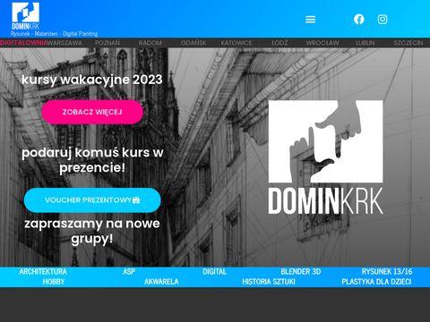 Domin-krakow.pl lekcje rysunku