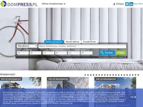 Dompress - sprzedam mieszkanie Warszawa