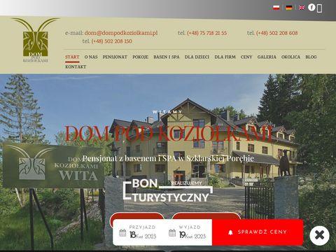 Dompodkoziolkami.com.pl Szklarska