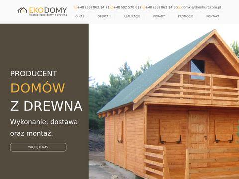 Domyzdrewna-ekodomy.pl domki letniskowe