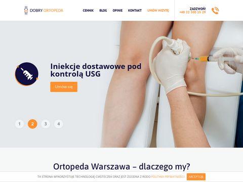 Dobry-ortopeda.warszawa.pl sportowy