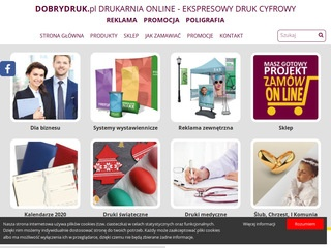 Dobrydruk.pl druk cyfrowy online