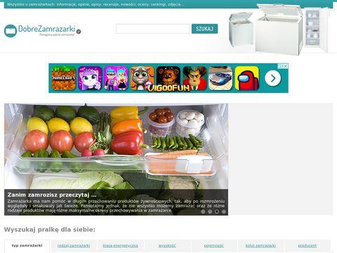 Zamrażarki dostępne w Polsce