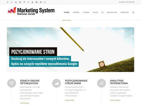 Dariuszjurek.pl - marketing internetowy