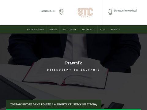 Damiansynowiec.pl radca prawny Brzesko, adwokaci