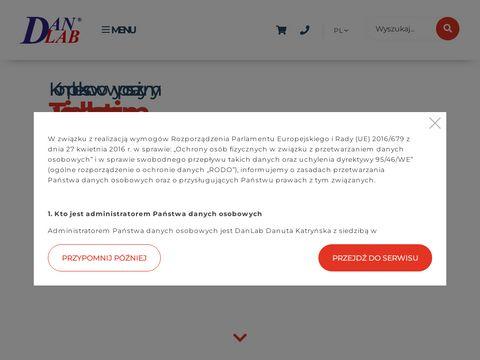 Danlab.pl analiza żywności