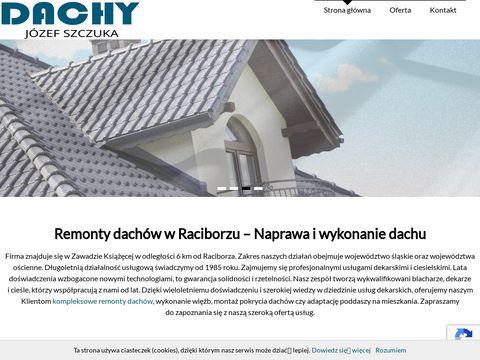 Dachy-szczuka.pl wykonanie dachu Wodzisław