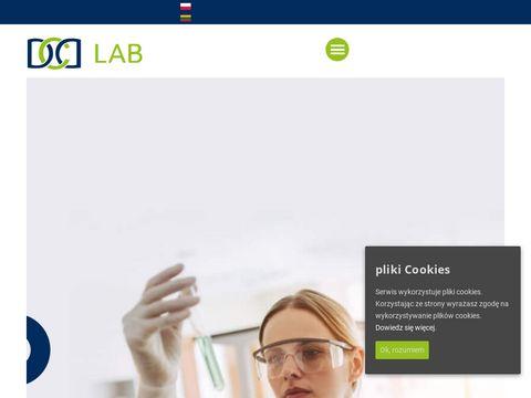 DCD projektowanie mebli laboratoryjnych