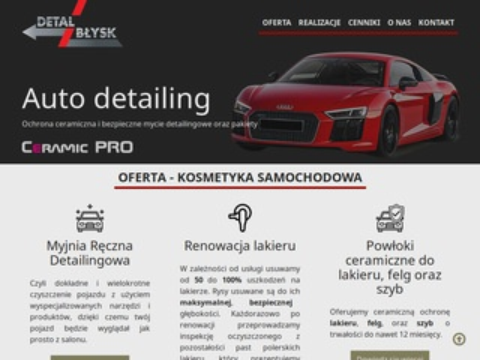 Detalblysk.pl Kraków renowacja lakieru