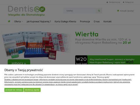 Dentis24.pl - materiały wypełnieniowe