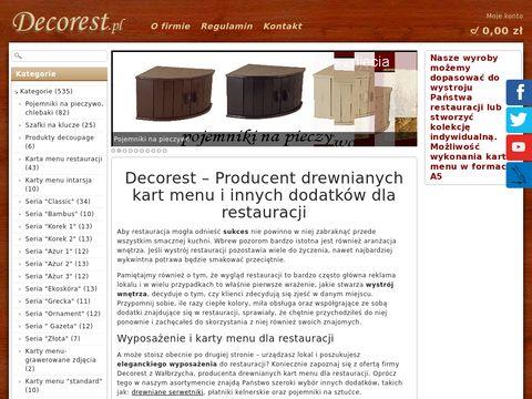 Decorest.pl omo deski drewniane do serów
