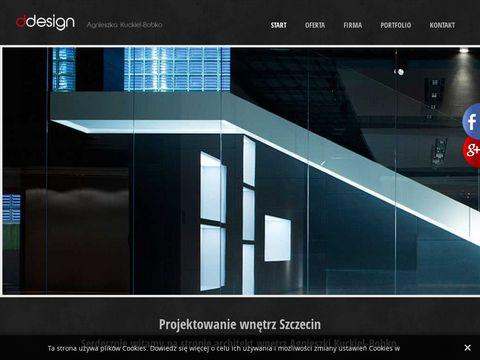 Ddesign projektowanie wnętrza Szczecin