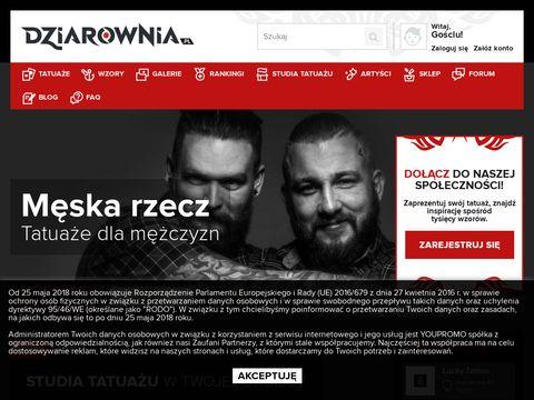 Dziarownia.pl baza tatuażu