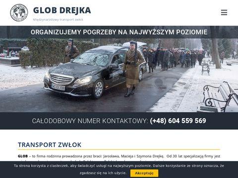Drejka.pl zakład pogrzebowy