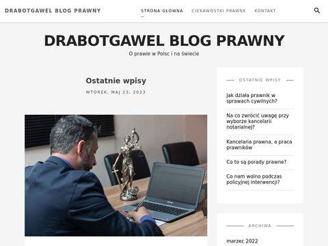Drabot Gaweł prawnik opole