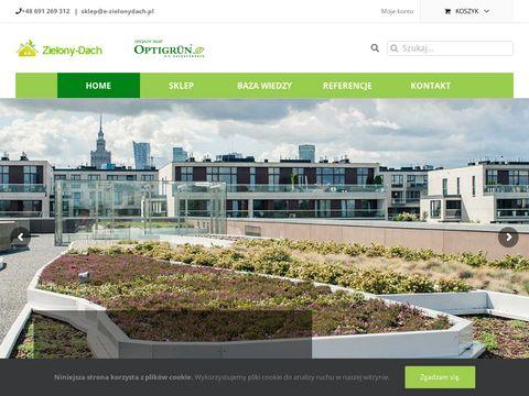 E-zielonydach.pl Zielone dachy - krok w stronę marzeń