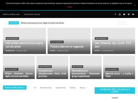 Ekonomiczny-wojownik.pl blog finansowy