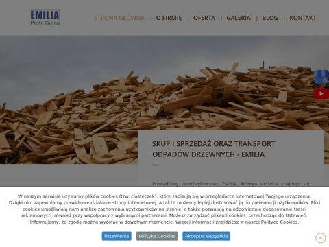 Emilia sprzedaż odpadów drzewnych