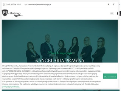 Emediatorlegal.pl prawnik Gliwice, adwokat