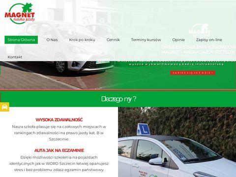 Emagnet.pl nauka jazdy kat b Szczecin